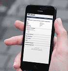 Mobile IBM i (AS400, iSeries) web application developed with WebSmart ILE