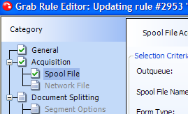 new grab rule editor