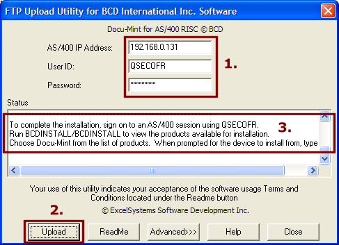 Docu Mint Installation Instructions Bcd Technical Support Bcd