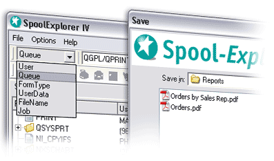 Spool Explorer