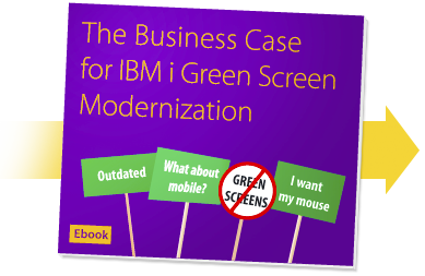 The business case for ibm i green screen modernization ebook bcd presto ebook fandeluxe Document