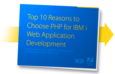 Top 10 Reasons to Choose PHP for IBM i Web Development | eBook | BCD